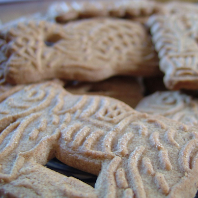 Spekulatius: German Spiced Cookie